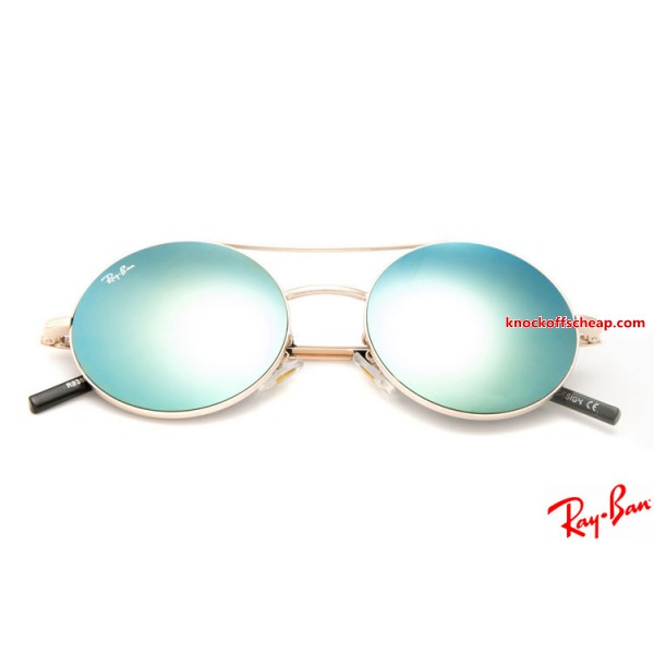 f06e2339351 Knockoff RayBans RB3813 Round Metal sunglasses for sale with gold ...