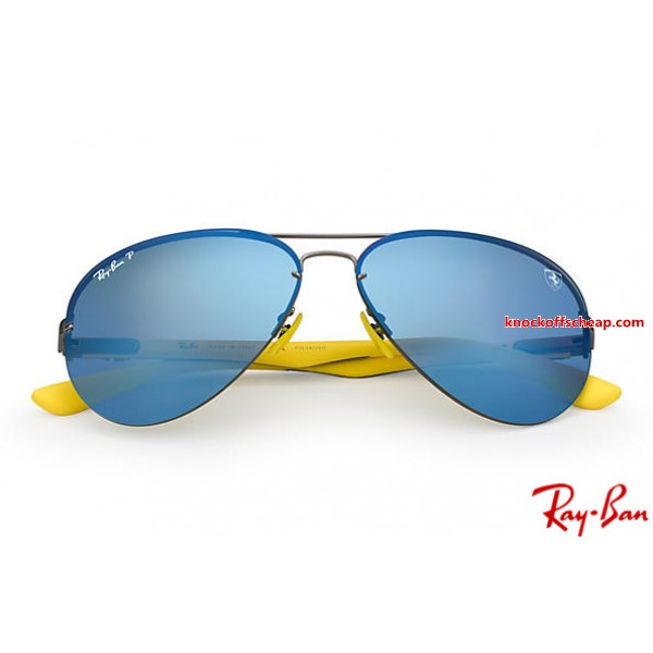 a9d339500ea Fake Ray Bans RB3460m Scuderia Ferrari Collection with Gunmetal ...