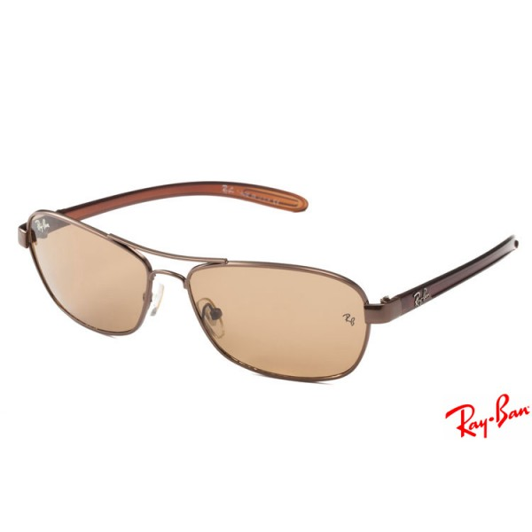 d54d59e5609 Ray Ban RB8302 Tech Carbon Fibre sunglasses with brown frame and brown  lenses