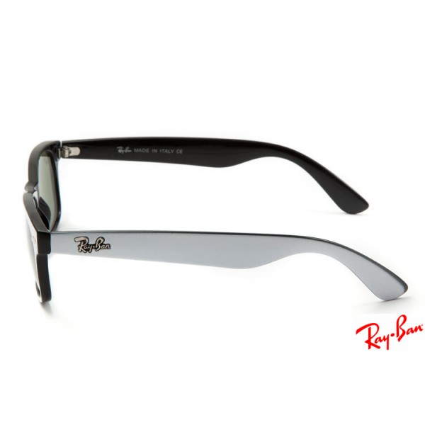 116d7d0f2cb Fake Ray Ban RB2132 New Wayfarer Classic sunglasses with grey frame ...